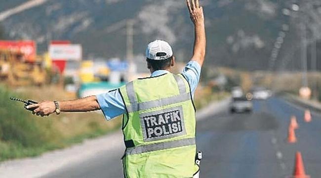 Samsun'da araçlara ceza yağdı