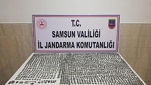 Samsun'da kaçakçılar yakayı ele verdi