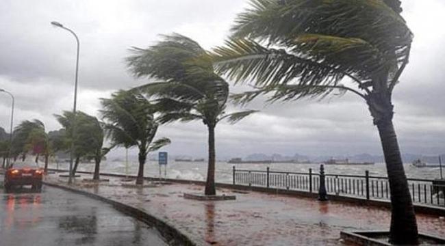 Samsun'da şiddetli rüzgar ve fırtına uyarısı