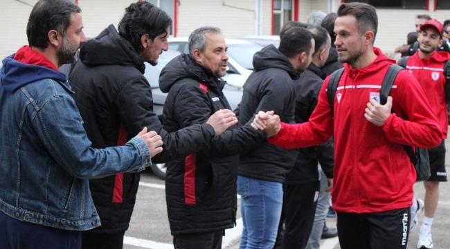 Samsunspor 3 puan için yola çıktı