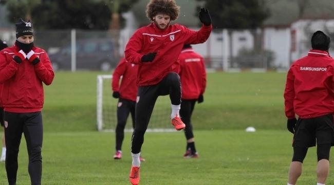 Samsunspor Afjet Afyonspor maçına hazır