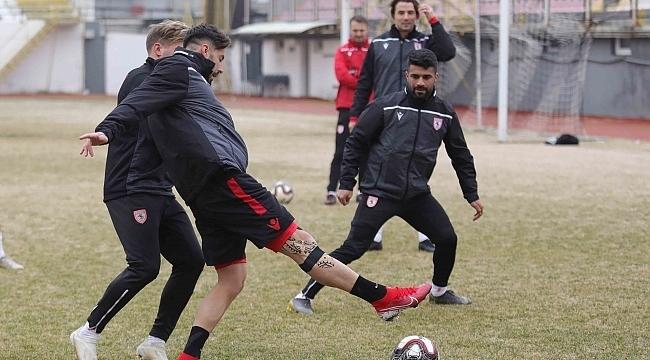 Samsunspor büyük maça hazır