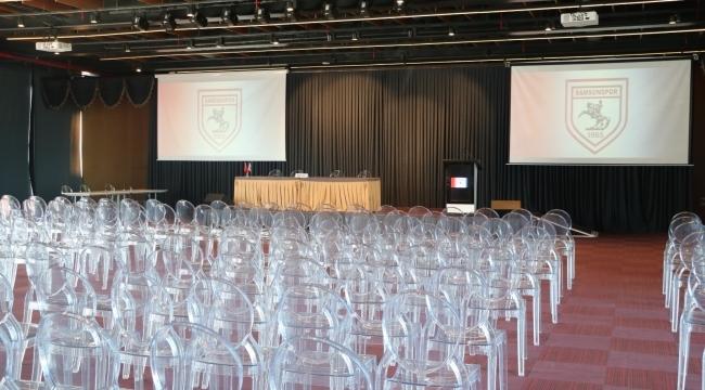 Samsunspor'da olağanüstü kongre ertelendi