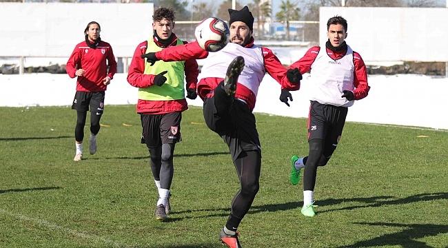 Samsunspor Manisa FK maçı hazırlıklarına başladı