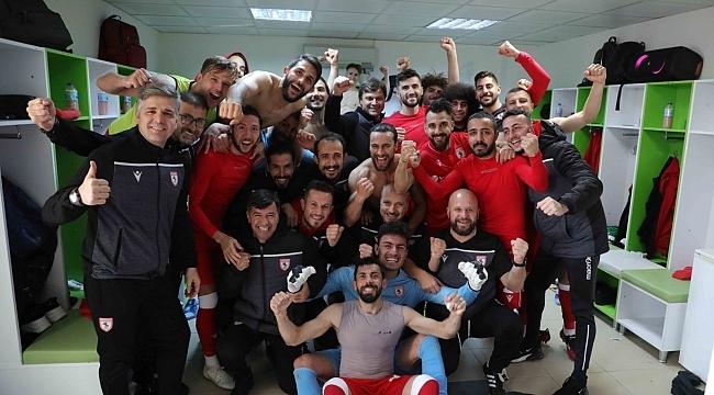 Samsunspor 'Sağlam' adımlarla ilerliyor