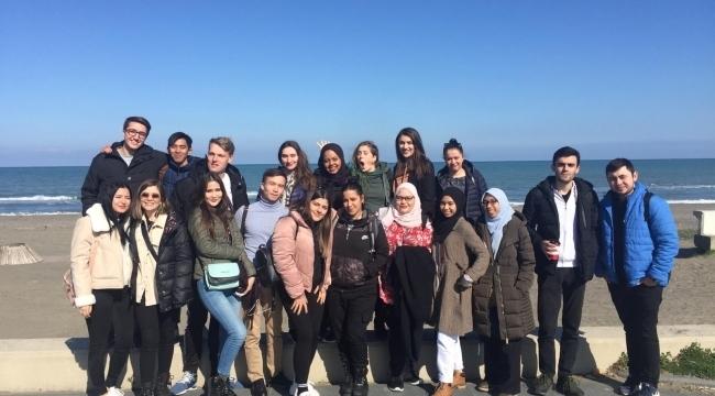 Yabancı öğrenciler Samsun'u sevdi