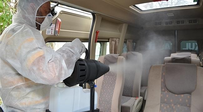19 Mayıs dezenfekte çalışmalarına ara vermiyor