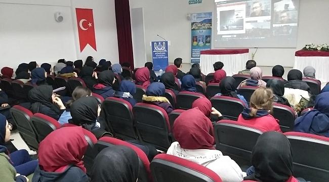 Atakum Anadolu İHL Öğrencileri Nasa'ya Misafir Oldu