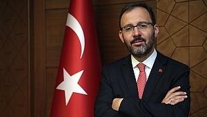 Bakan Kasapoğlu: Tüm ligler ertelendi