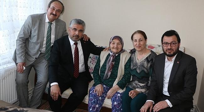 Başkan Aksu: AK Parti sevgi ve vefadır