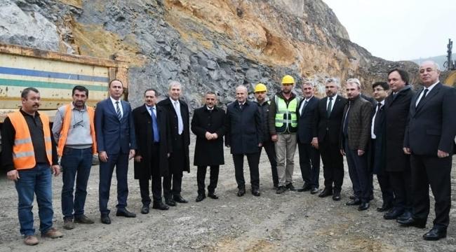 Başkan Aksu:Ulaşımda Samsun'a dev projeler