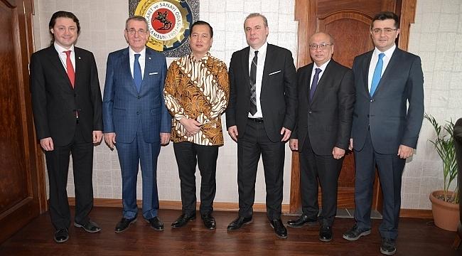 Büyükelçi Ikbal işbirliği için Samsun'da