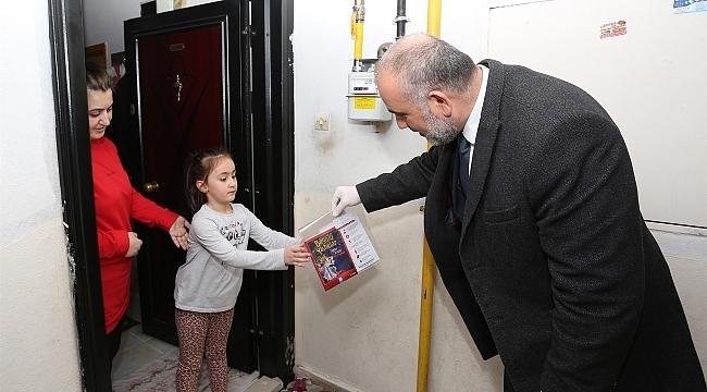 Canik Belediyesi'nden 'Evde Kal, Hediyeni Al' kampanyası