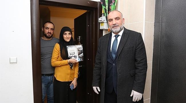 Canik Belediyesi'nden 'Evde Kal Kitabını Al' Kampanyası