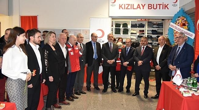 Kızılay Öğrenci Butik Mağazası OMÜ'de açıldı