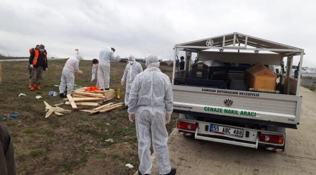 Samsun'da iki kişi Korona virüsten hayatını kaybetti
