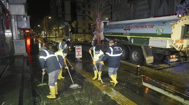 Tekkeköy Belediyesi tedbirleri arttırdı