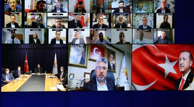 AK Parti Samsun'da çalışmalar hız kesmiyor