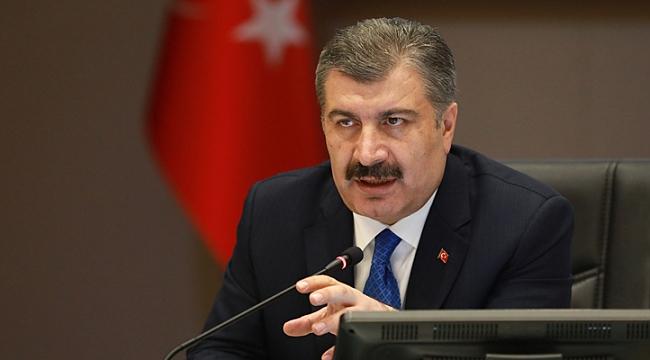 Bakan Koca: Türkiye'deki vaka sayısı dördüncü haftada düşüşe geçti
