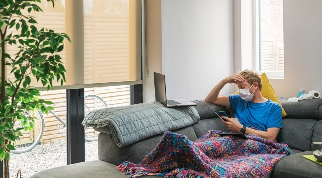 Korona virüs pozitifin ev karantinasında mutlak izolasyon şart
