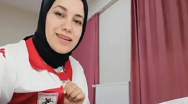 Samsun'da karantinaya alınan öğrenciden teşekkür