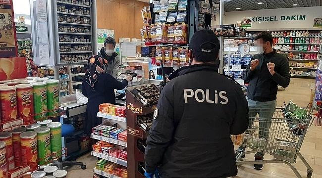 Samsun'da sosyal mesafeye uymayanlara işlem yapıldı