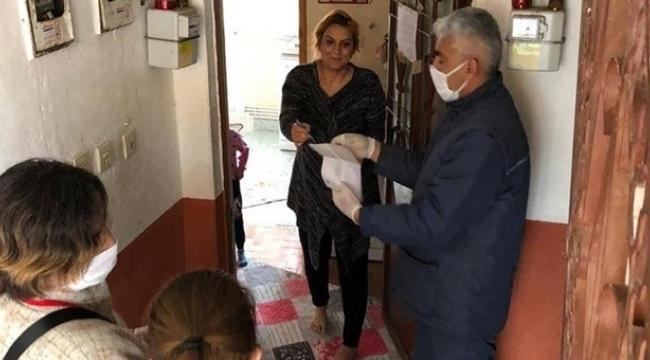 Samsun'da sosyal yardımlar evlere teslim edilmeye başlandı