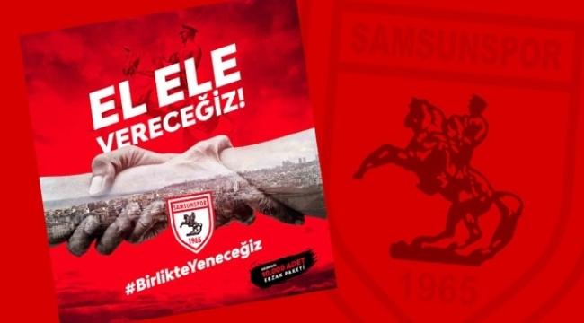 Samsunspor'dan Vefa Sosyal Destek Gruplarına büyük destek