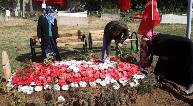 Başkan Akgül şehit ailesinin isteğini yerine getirdi
