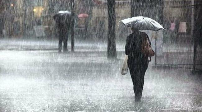 Meteorolojiden Samsun'a sağanak yağış uyarısı