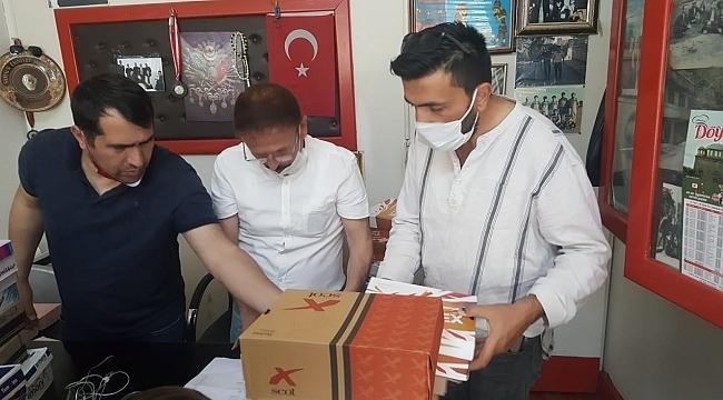 Samsun'da yüzlerce çocuk bayramlık ayakkabılarına kavuştu