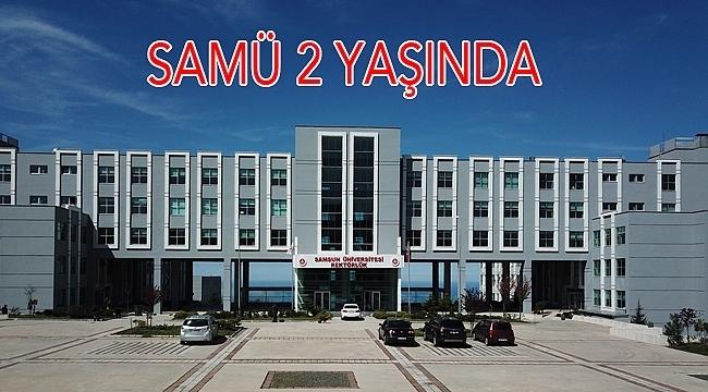 Samsun Üniversitesi İki Yaşında