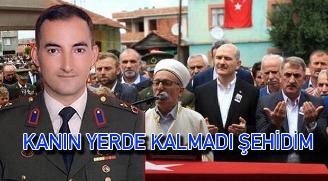 Samsunlu Binbaşı Zafer Akkuş'u şehit eden terörist öldürüldü