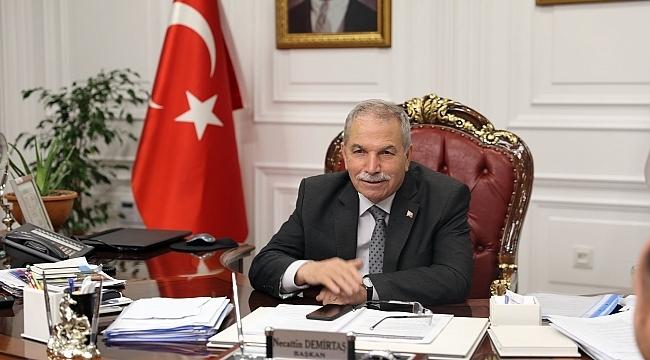 Başkan Demirtaş: Samsunsporumuza başarılar dilerim