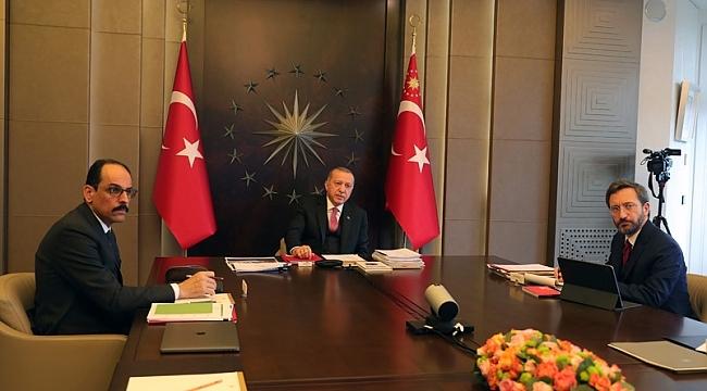 Cumhurbaşkanı Erdoğan 3 ay sonratoplantılarını yüz yüze yapacak