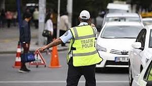 Samsun'da 4 bin 957 aracın geçişine izin verilmedi