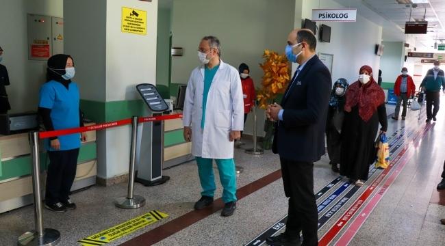 Samsun'da hastanelerde normale dönüş başladı