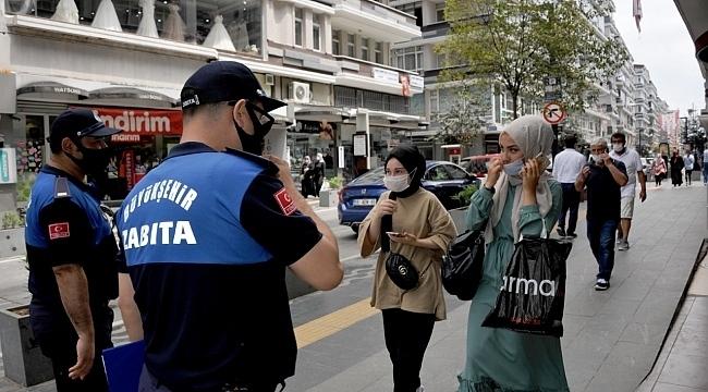 Samsun'da sıkı maske denetimi