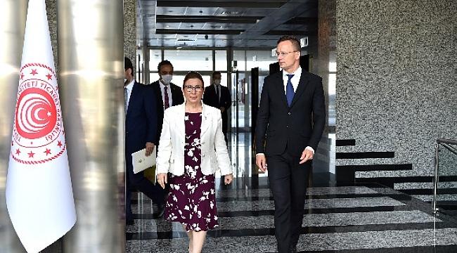 Türkiye ve Macaristan'ın ikili ticaret hacmi hedefi 6 bin milyar dolar