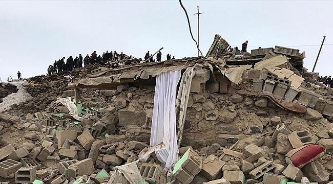 Van'da 5,4 büyüklüğünde deprem