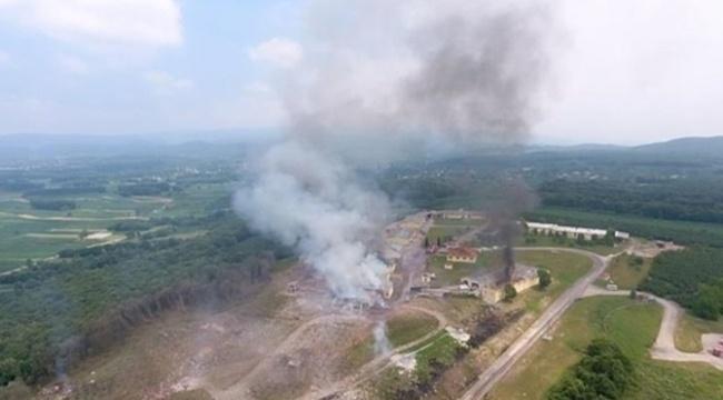Havai fişek fabrikasındaki patlamada 3 asker şehit oldu
