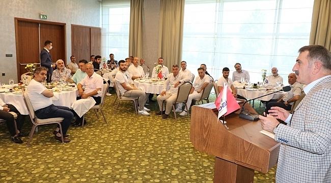 Samsun Haber - Milletvekili Köktaş, mobilyacılarla buluştu