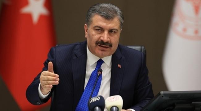 Samsun Haber -  Bakan Koca vakaların en çok görüldüğü illeri açıkladı