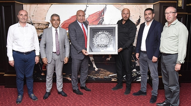 samsun haber - Başkan Yıldırım'dan başkanlara ziyaret