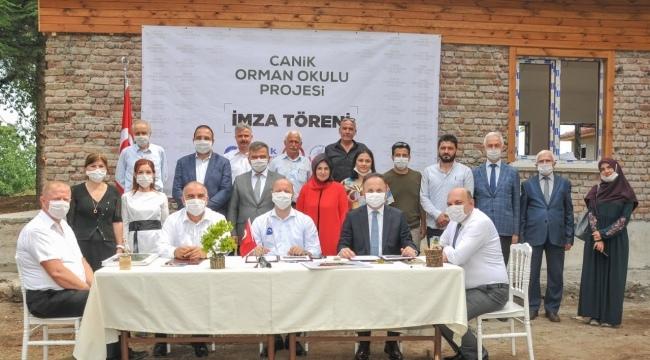 Samsun Haber - Canik Belediyesi Türkiye'de bir ilki gerçekleştirdi