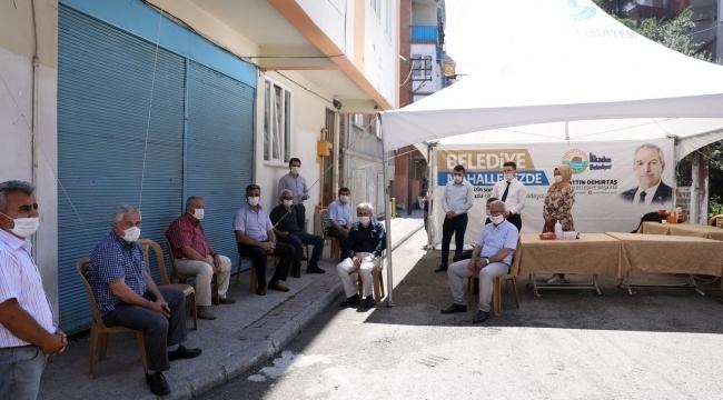 Samsun Haber - İlkadımlılar 'Belediye Mahallemizde Çadırı'na kavuştu