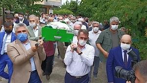Samsun Haber -  Milletvekili Köktaş'ın annesi son yolculuğuna uğurlandı