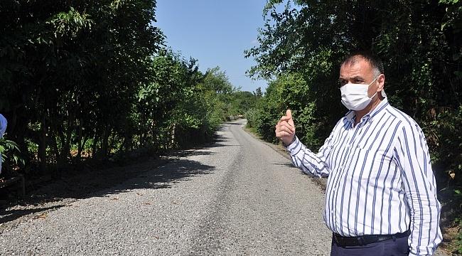Samsun Haber - Salıpazarı'nda yol çalışmaları aralıksız sürüyor