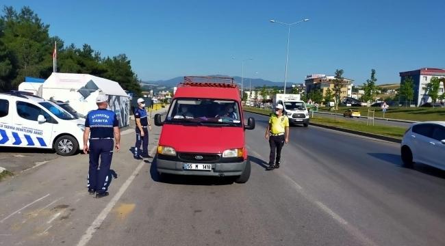 Samsun Haber - Samsun'da tedbirlere uymayanlara ceza yağdı