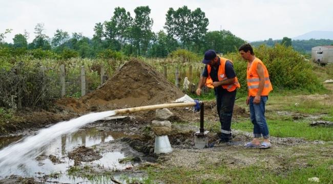 Samsun Haber - SASKİ'den Terme'ye 4 yeni kuyu müjdesi